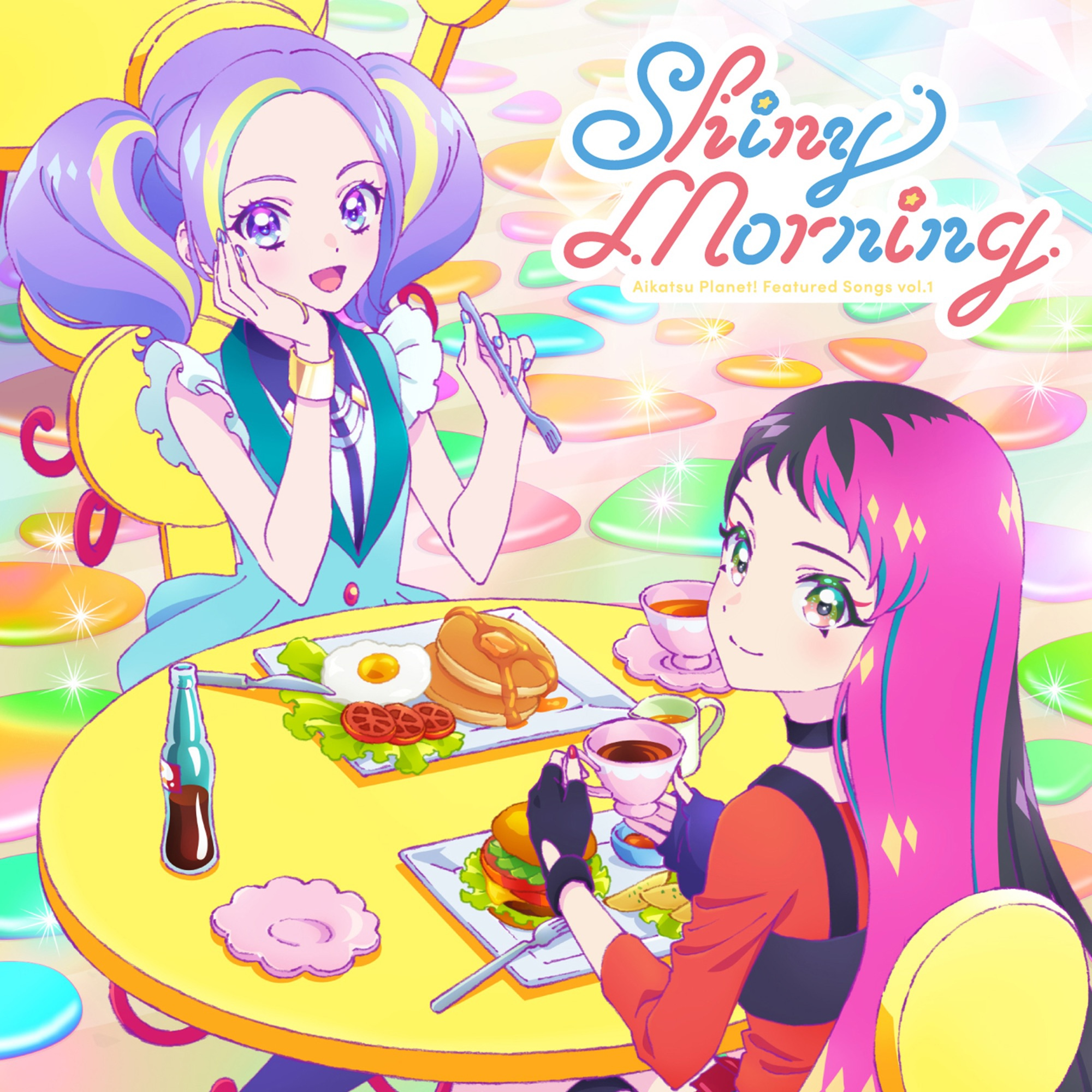 aikatsu planet shiny morning